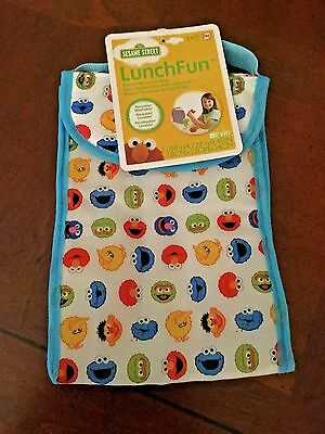 Sesame Street Lunch Bag Elmo Grover Grouch New Carry All & many other characters