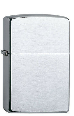 Zippo Feuerzeug Regular Chrome brushed  60000804  NEU+OVP