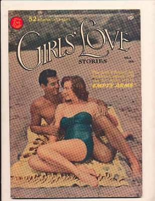 Girls' Love Stories #3 in Very Fine - condition. FREE bag/board