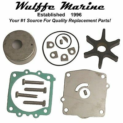 Water Pump Kit For Yamaha 2-Stroke V4 115-130 Hp Rplcs 18-3372 6E5-W0078-01-00