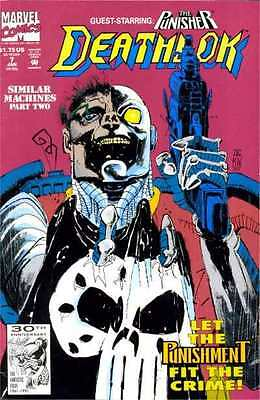 Deathlok (1991 series) #7 in Very Fine + condition. FREE bag/board