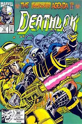 Deathlok (1991 series) #12 in Very Fine condition. FREE bag/board