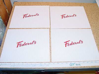 Detroit Federal & Crowley Department Store Vintage Gift Boxes Crowley Milner Co