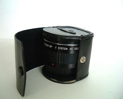 Tamron SP F System 2X Tele-Converter for Pentax K mount - Camera Lens And Case