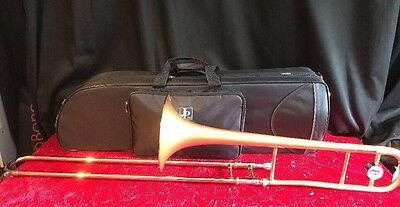 Ex Demo JPRath 231 Medium Bore Trombone In Satin Gold Lacquer