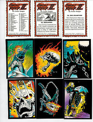 1992 Marvel Ghost Rider   90 Card Set  2017 Sale Wow