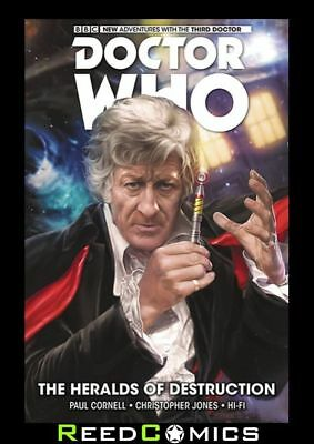 DOCTOR WHO 3rd DOCTOR VOLUME 1 HERALDS OF DESTRUCTION HARDCOVER New Hardback