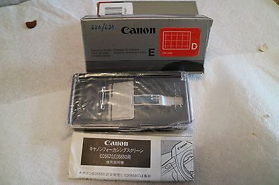 Canon screen for Canon 620/650 camera ( D )