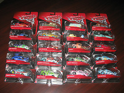NEW Disney Pixar Cars 3 Mattel Diecast LOT of 20 Different Jackson Storm