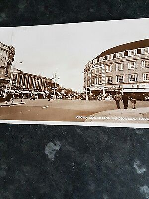 Crown corner from windsor road Slough ABC foster brothers in shot unused rare