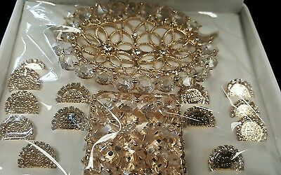 New gold Rhinestone Wedding Ceremony arras Arras de boda New wedding coins