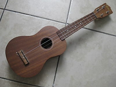 Vintage Japan-made Hohner Mahogany Ukelele Cute Little Guitar