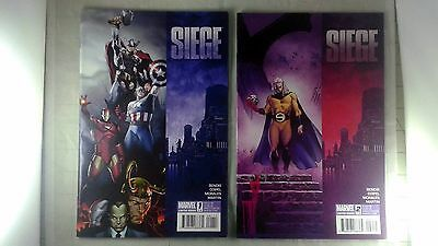 Marvel Siege Complete set Mini Series 1 2 3 4 Siege: Captain America 1 2010