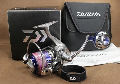 Daiwa 10 SALTIGA 4000H Spinning Reel   Made In Japan [Excellent+++]
