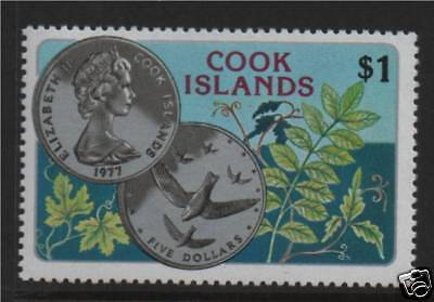 Cook Is 1977 Wildlife Day SG 583  MNH