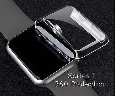 Apple iWatch 38MM SnapOn Cover Case - Hard Screen Protector