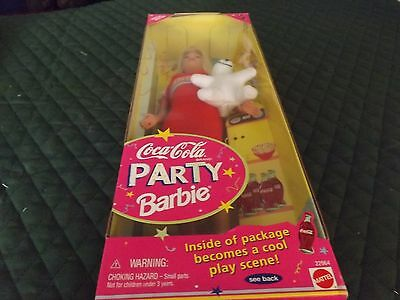 Coca Cola Party Barbie 1998