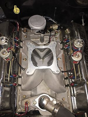 Small Block Chevy 350 Intake With NOS Fogger