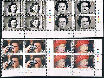 Solomon Is 2006 Queens 80th Birthday PLATE BLK SG1166/9 MNH