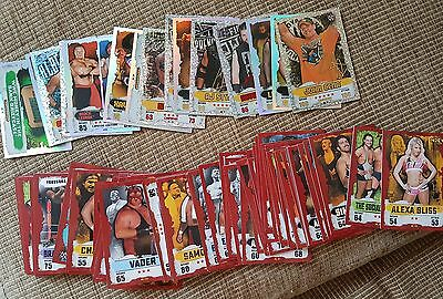 Topps Wwe Slam Attax Takeover Trading Game Cards Joblot/collection 2016