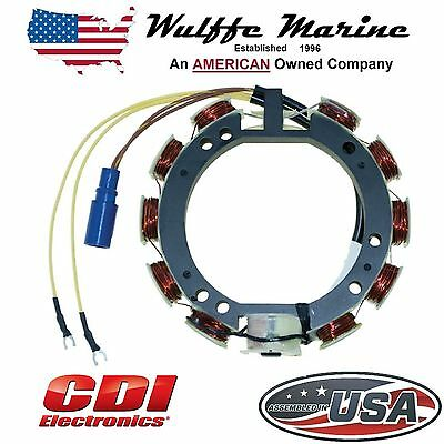 Stator for Johnson Evinrude Outboards 65-115 Hp V4 CDI 173-3536 Replaces 583536