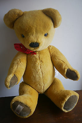 Merrythought London Gold Bear - Jointed - 21 inch