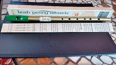 Waltons Irish Penny ''d'' Whistle  Boxed With Music & Instructions