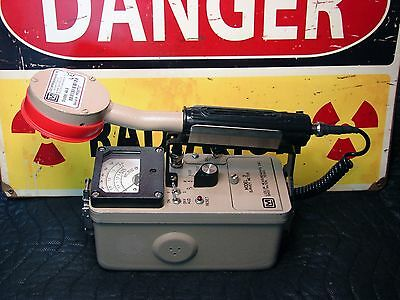Ludlum model 3 44-9 pancake Geiger counter radiation detector CALIBRATED a β γ x