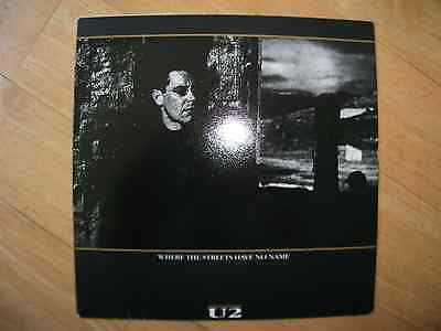 "Island Nr.109382 - U2 - Where The Streets Have No Name 7"" (Europe)"
