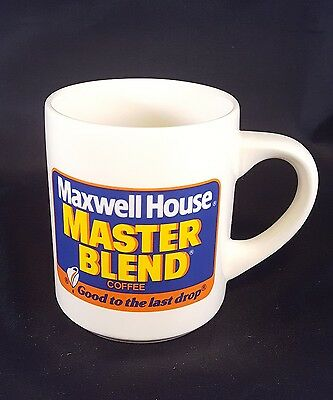 """Maxwell House Coffee Mug Vintage Advertising Cup """"Good To the Last Drop"""""""