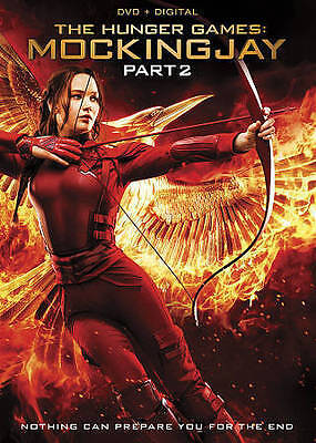 The Hunger Games: Mockingjay, Part 2  (DVD) NEW!!!FREE SHIPPING