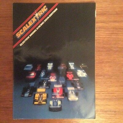 Scalextric Catalogue 20th Edition