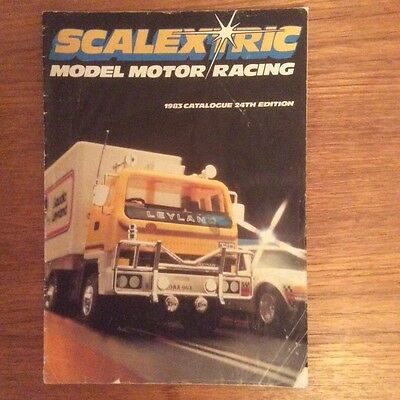 Scalextric Catalogue 1983 24th Edition