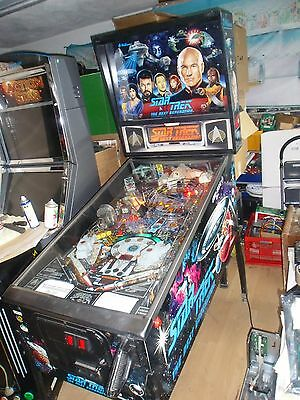Star Trek Next Generation Bally / Williams Flipper Pinball