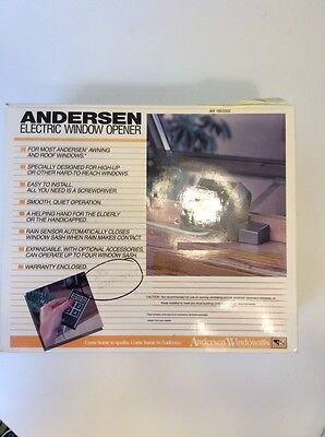 Andersen Electric Window Opener Complete Package
