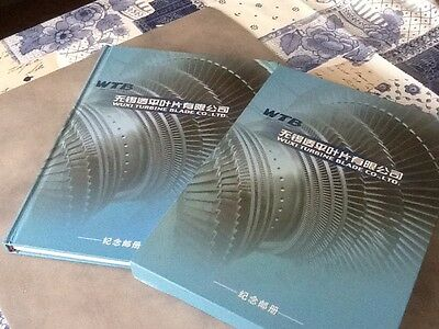 chinese stamp album / book Wuxi turbine
