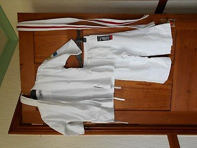 Boys Sport  Kit age 12-13 white by BLITZ Good Condition for Karate etc
