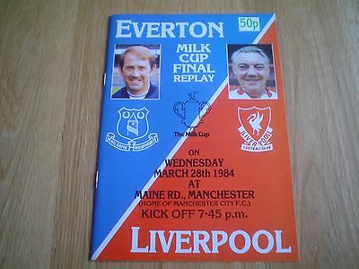 Everton  V  Liverpool   1984    L.cup Final   Replay