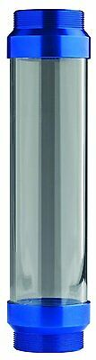 Plews 30-754 UltraView Clear Replacement Grease Tube Barrel with Blue Ends