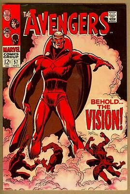 Avengers #57 - 1st Appearance of Vision - Looks Newsstand Fresh - High Grade
