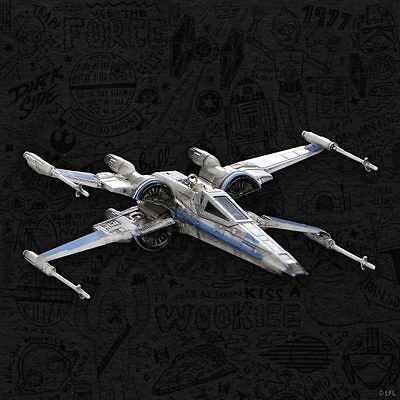 2017 Sdcc Exclusive Hallmark Star Wars T-70 X-Wing Fighter Ornament