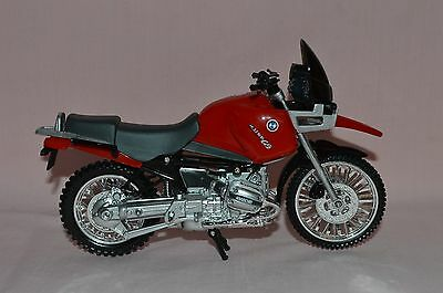 Bmw R1100 Gs Motorcycle Diecast 1/12 Toy Color - Black//red
