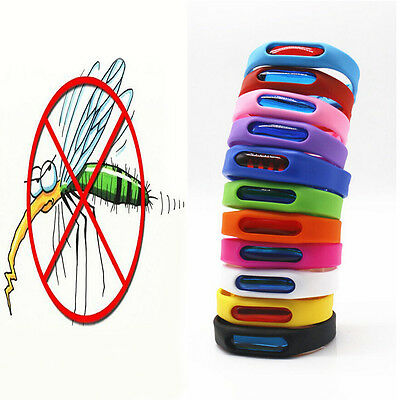 Repellent Wrist Band Anti Mosquito Repeller Wristband Pest Insect Bugs Bracelet