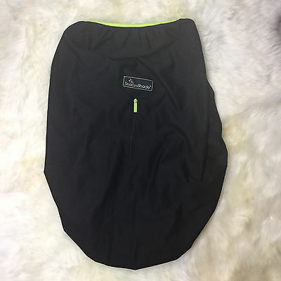 SnoozeShade Black Breathable Mesh Stroller Cover Shade