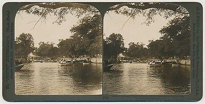 TURKEY SV - Constantinople - Rowboats on Water - HC White c1901