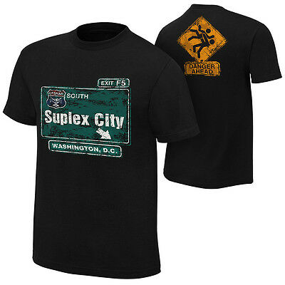 Brock Lesnar Suplex City Washington D.c T-Shirt