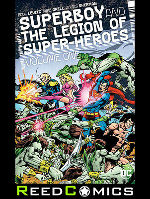 SUPERBOY AND THE LEGION OF SUPERHEROES VOLUME 1 HARDCOVER (312 Pages) Hardback