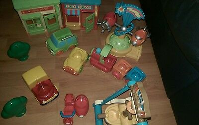 Large happyland / elc bundle shops and vehicles