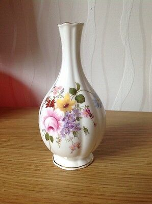 ROYAL CROWN DERBY 'Derby Posies' Vase, Excellent Condition c1999 1st