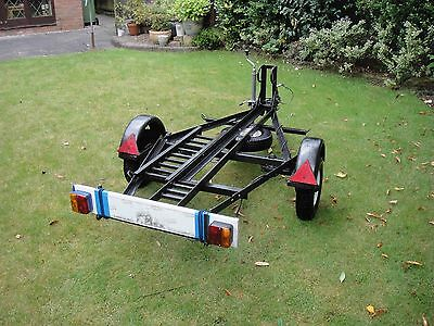 Single Motorbike trailer - great condition, ready to use